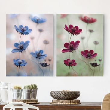 Product picture Canvas Art Two-part - Kosmeen Mix -...