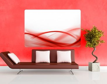 Produktfoto Wall Mural Red Composition