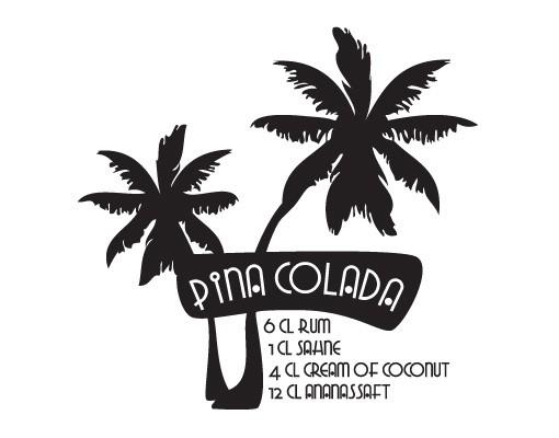 Produktfoto Wandtattoo No.JO13 Pina Colada