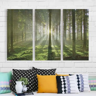 Product picture Canvas Art Three-part - Spring Fairytale...