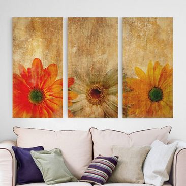 Product picture Canvas Art Three-part - Vintage...