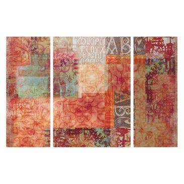 Product picture Canvas Art Three-part - Type Specimen -...