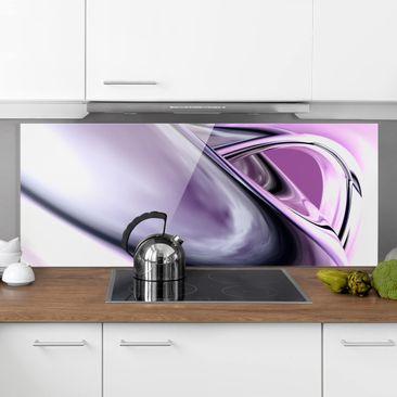 Produktfoto Spritzschutz Glas - Drifting - Panorama Quer