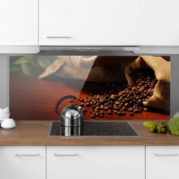 Produktfoto Spritzschutz Glas - Dulcet Coffee - Panorama Quer