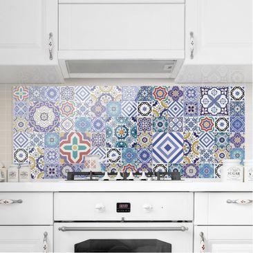 Immagine del prodotto Paraschizzi in vetro - Mosaici portoghesi - Panoramico