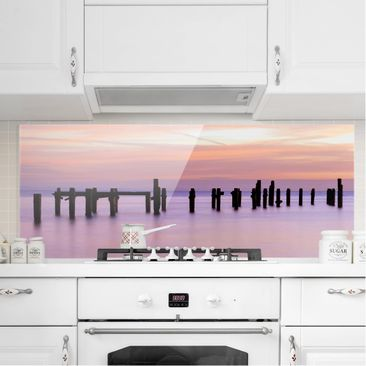 Product picture Bilderwelten Glass Splashback - Sea...