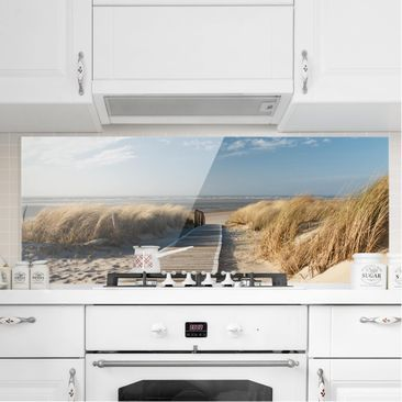Product picture Bilderwelten Glass Splashback - Baltic...