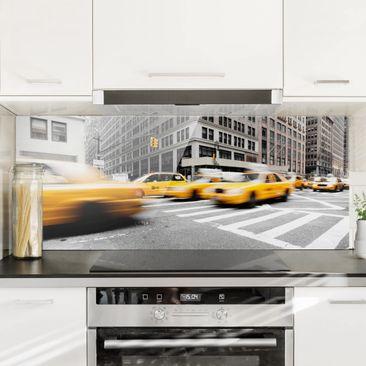 Produktfoto Spritzschutz Glas - Rasantes New York - Panorama Quer