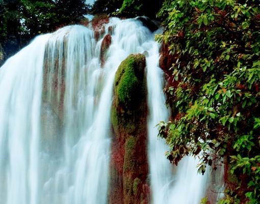Produktfoto Selbstklebendes Wandbild Wasserfallpanorma