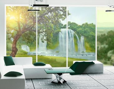 Produktfoto Window Mural Paradise on Earth