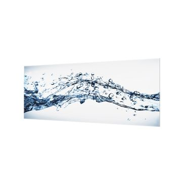 Product picture Bilderwelten Glass Splashback - Water...