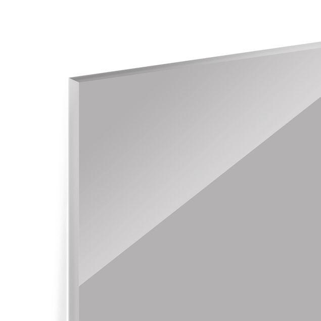Immagine del prodotto Paraschizzi in vetro - Grigio Agate - Panoramico