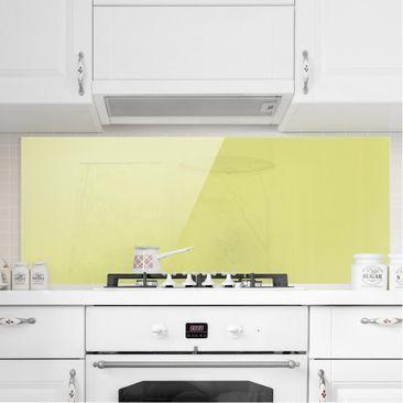 Immagine del prodotto Paraschizzi in vetro - Pastel Green - Panoramico