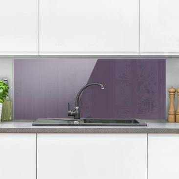 Immagine del prodotto Paraschizzi in vetro - Red Violet - Panoramico