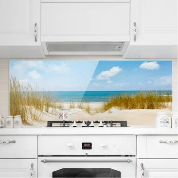 Product picture Bilderwelten Glass Splashback - Beach On...