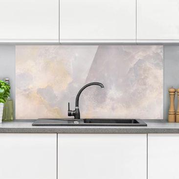 Immagine del prodotto Paraschizzi in vetro - Onyx Marble Grey - Orizzontale 1:2