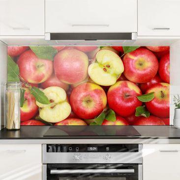 Immagine del prodotto Paraschizzi in vetro - Juicy Apples - Orizzontale 1:2