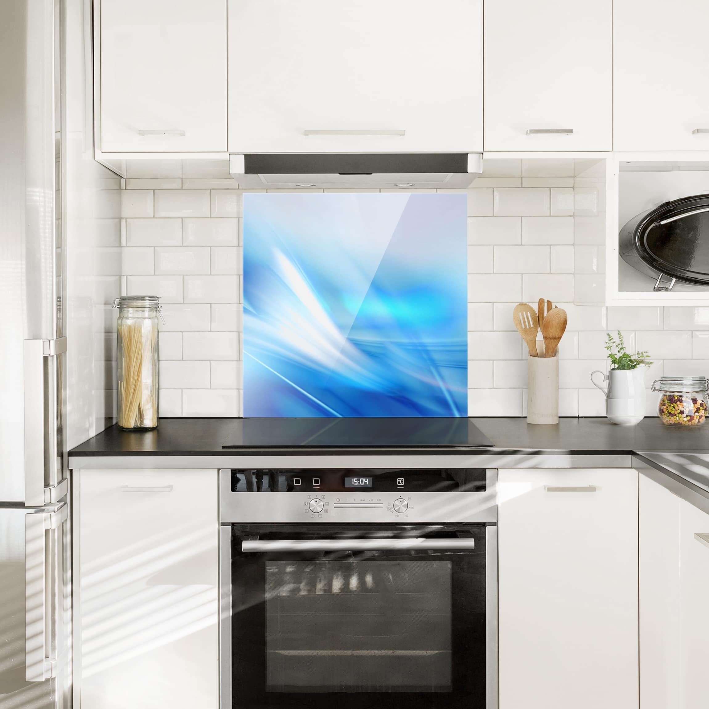 spritzschutz glas aquatic quadrat 1 1. Black Bedroom Furniture Sets. Home Design Ideas