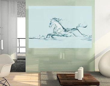 Produktfoto Window Mural Glassy Horse