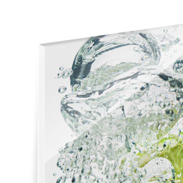 Product picture Bilderwelten Glass Splashback - Lime...