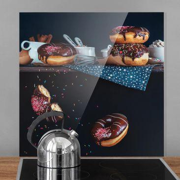 Immagine del prodotto Paraschizzi in vetro - Donuts from the Top Shelf - Quadrato 1:1