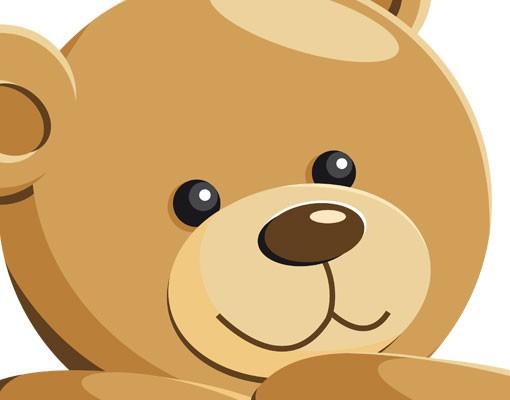 Produktfoto Wandtattoo Babyzimmer Bär No.EG31 Teddy