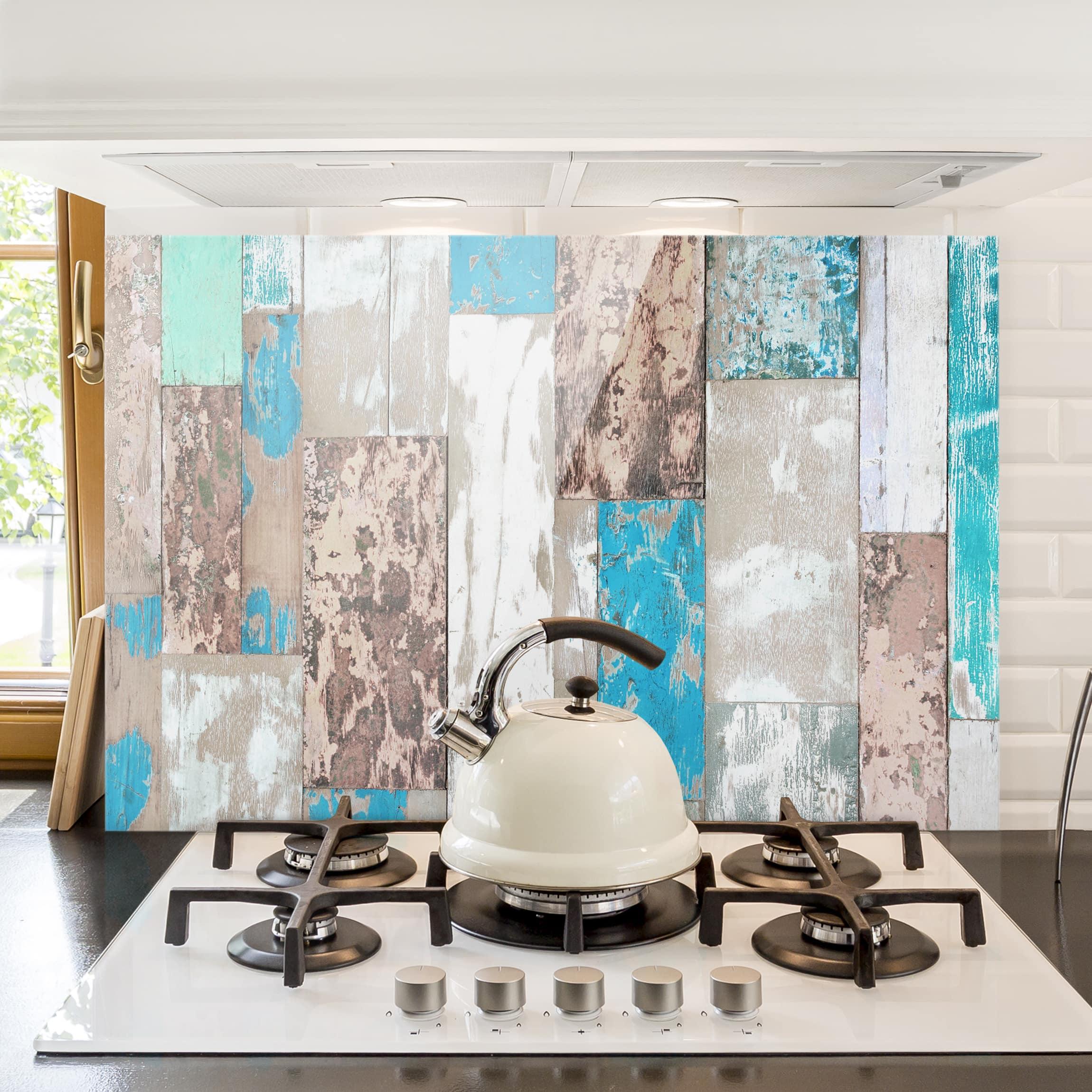 spritzschutz glas maritime planks quer 2 3. Black Bedroom Furniture Sets. Home Design Ideas
