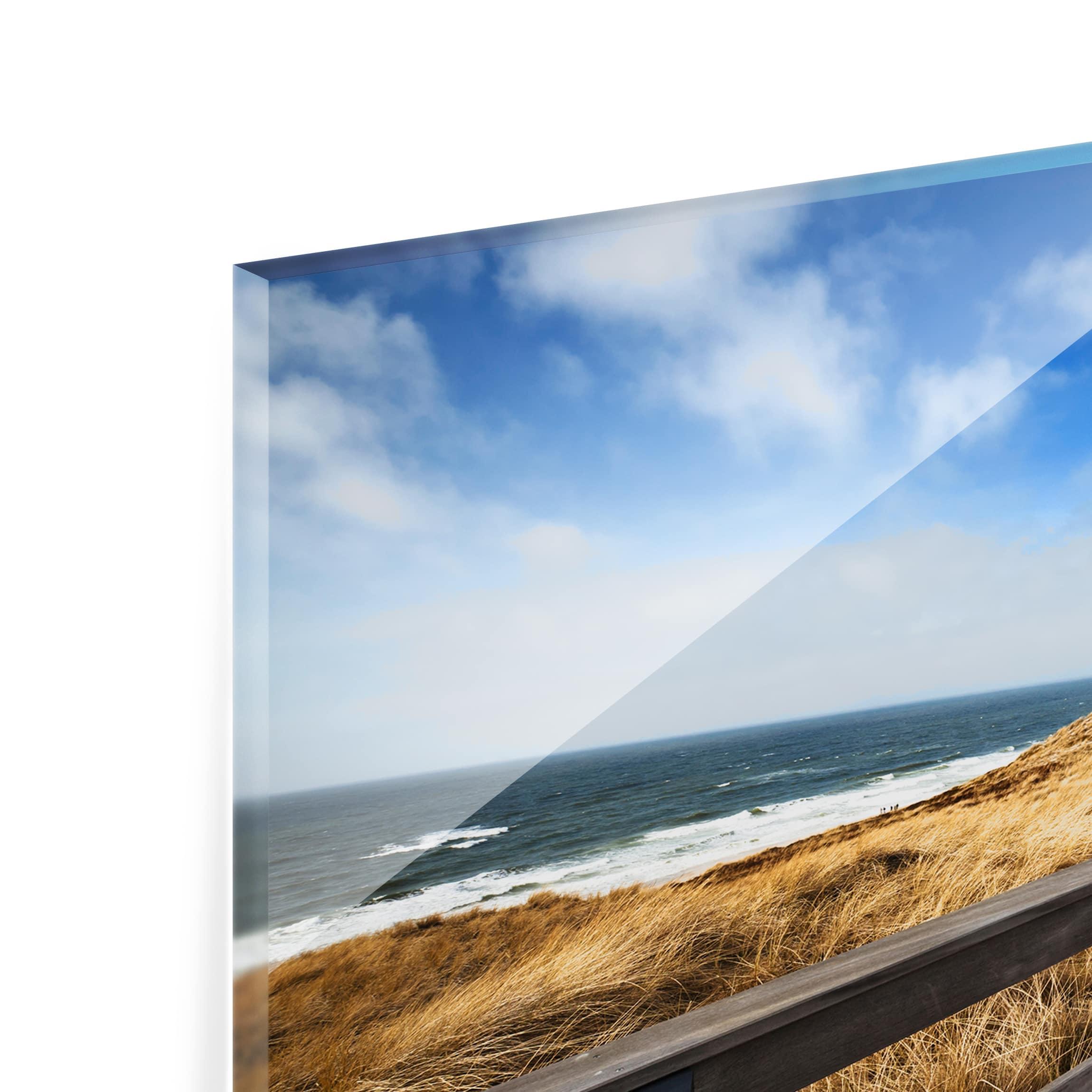 spritzschutz glas nordseespaziergang quer 2 3. Black Bedroom Furniture Sets. Home Design Ideas