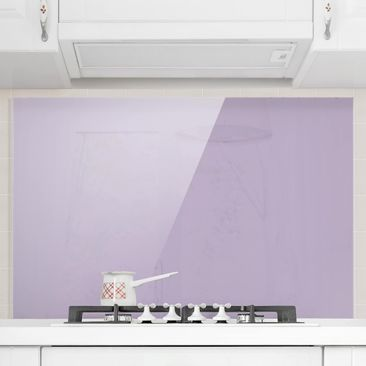 Produktfoto Spritzschutz Glas - Lavendel - Quer 2:3