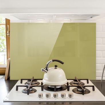 Produktfoto Spritzschutz Glas - Lindgrün Bambus - Quer 2:3