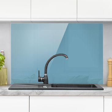 Produktfoto Spritzschutz Glas - Meerblau - Quer 2:3