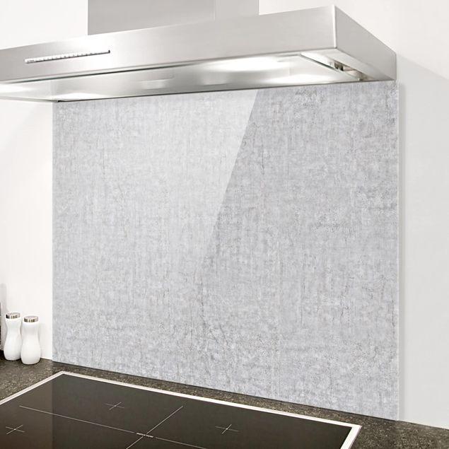 spritzschutz glas beton cir quer 3 4. Black Bedroom Furniture Sets. Home Design Ideas