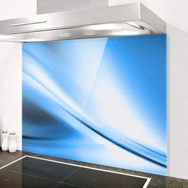 Immagine del prodotto Paraschizzi in vetro - Deep Blue Heaven - Orizzontale 3:4
