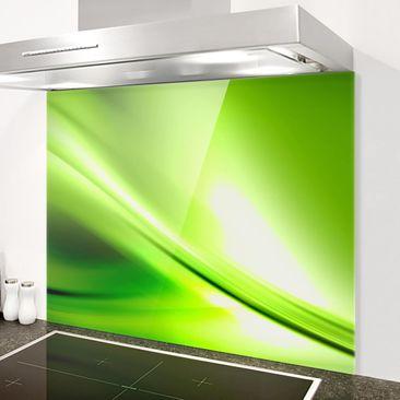 Immagine del prodotto Paraschizzi in vetro - Green Valley - Orizzontale 3:4