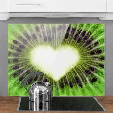 Produktfoto Spritzschutz Glas - Kiwi Love - Quer 3:4