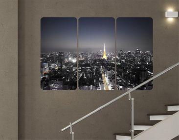 Produktfoto Wall Mural Tokyo Triptych