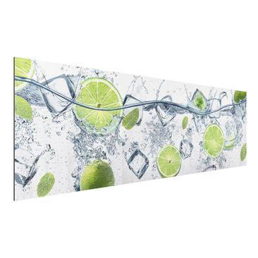 Produktfoto Aluminium Print - Erfrischende Limette -...