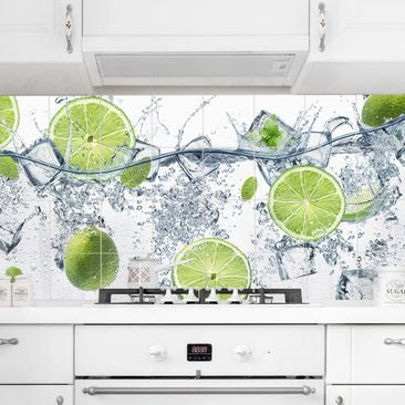 Produktfoto Fliesenbild Erfrischende Limette