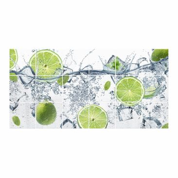 Product picture Tile Mural Refreshing lime