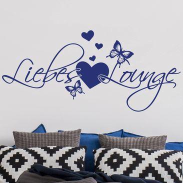 Produktfoto Wandtattoo Liebes Lounge