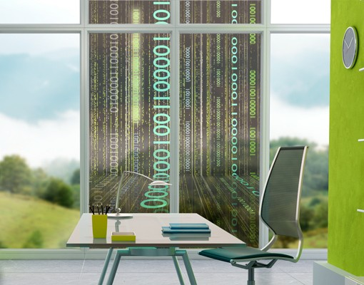Produktfoto Fensterfolie - Sichtschutz Fenster Dematrix - Fensterbilder