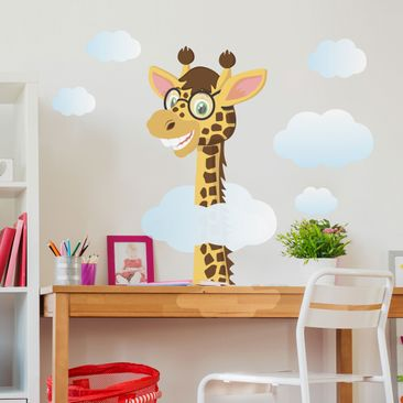 Product picture Wall Decal Funny Giraffe