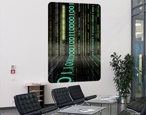 Produktfoto Selbstklebendes Wandbild Dematrix