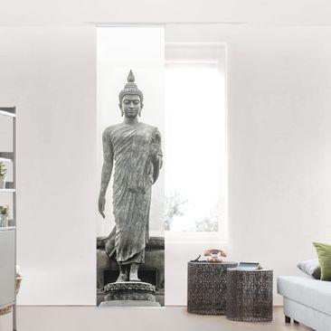 Produktfoto Schiebegardine Set - Buddha Statue - Flächenvorhang