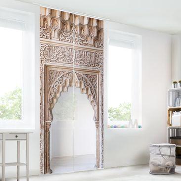 Produktfoto Schiebegardinen Set - Alhambra - 2 Flächenvorhänge