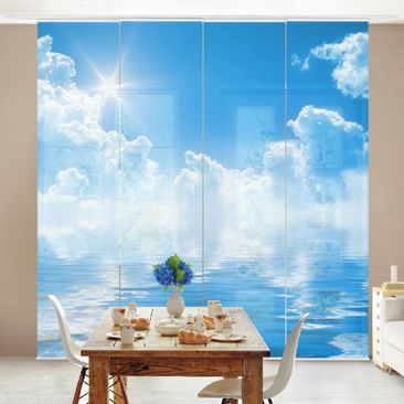 Product picture Sliding curtains set - Above Sea Level -...