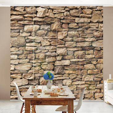 Immagine del prodotto Tende scorrevoli set - American Stone Wall - 4 Pannelli
