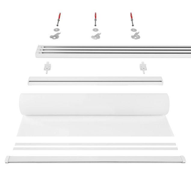 Produktfoto Schiebegardinen Set - Pusteblumen Nahaufnahme in wohnlicher Sepia Tönung - 4 Flächenvorhänge