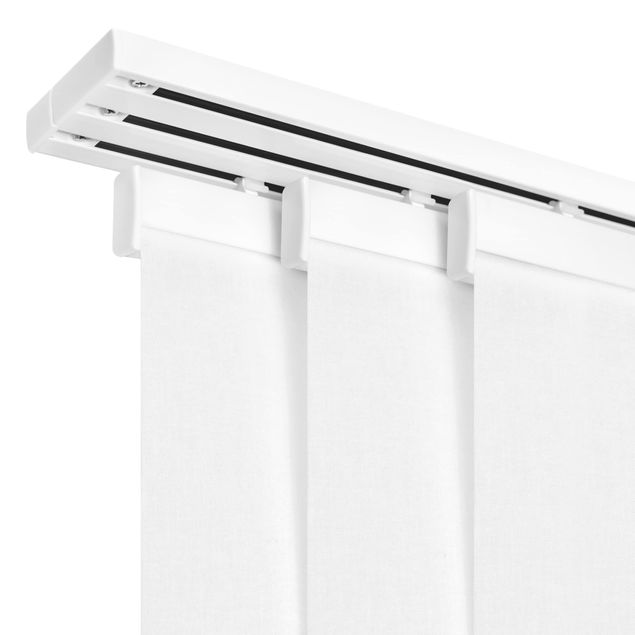 Produktfoto Schiebegardinen Set - Shabby Backstein Wand - 4 Flächenvorhänge