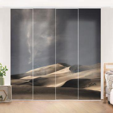 Produktfoto Schiebegardinen Set - Colorado Dünen - 4 Flächenvorhänge